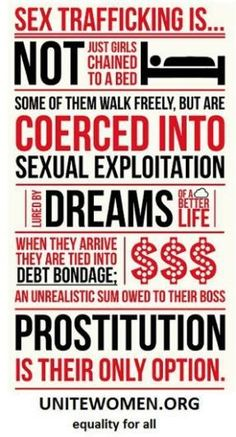 The facts on sex trafficking. #endit #endslavery #HumanTraffickingPreventionMonth