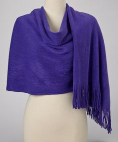 Take a look at this Purple Shawl by Shana-K on #zulily today!