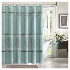 Carlyle Polyester Shower Curtain 72