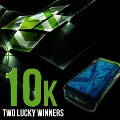 Congrats to  @thekiddvapes  and @az_mushroomman winners of the the  #s6xth10k contest.  Please check your DM shortly for instructions. Thank you to everyone who participated.  Keep checking in for our next promotion and specials.  #s6xth #swanvape