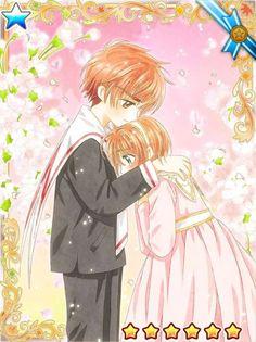 Syaoran hold Sakura, CardCaptor Sakura y pororo él pequeño pingüino de Sakura Kinomoto[CLAMP] -little sweet sacrifice