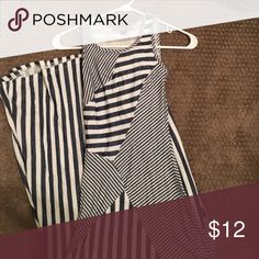 Stripe maxi dress Blue and white striped maxi, never worn Dresses Maxi