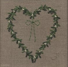 Jo Butcher, Embroidery Artist - Gallery - Category: Hearts