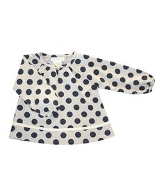 Take a look at this Serendipity Organics Crème Polka Dot Organic Tunic - Infant on zulily today!