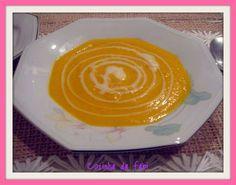 Cozinha da Fabi: Sopa de cenoura e gengibre