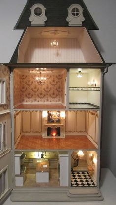 When I was a kid, I used to daydream about closing myself off in a doll house, that way I could be away, and feel like I wasn't.
