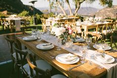 Travel-Inspired Airy Romantic Malibu Garden Wedding
