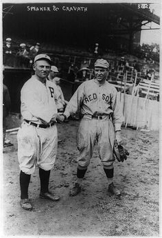 Gavvy Cravath (Phillies) and Tris Speaker (Red Sox) - 1911.
