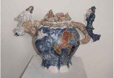 На аукцион выставлен лот скульптура ваза Городок Шагала | Цена 50000 Руб.