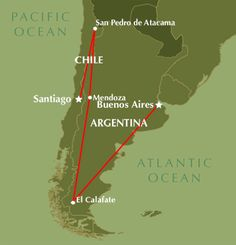 Itineraries | Chile And Argentina - Escape To Tranquility | Enchanting-South America