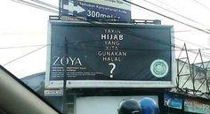 Ramai kontroversi jilbab halal dari brand Zoya yang hanya muslimah tertentu yang bisa membelinya, saya ikutan tergelitik buat berkomentar. Alasannya tak lebih dari merasa hina karena saya tidak men...