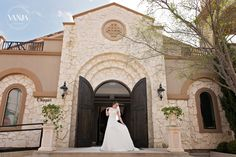 Piazza in the Village Colleyville TX ceremony chapel - bridal portrait photo by Vanja D Photography www.vanjad.com