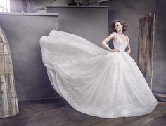 Lazaro 3662 sparkle ball gown