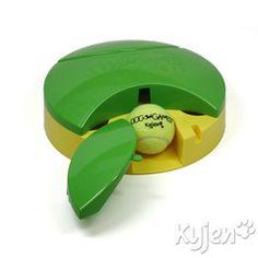 Tennis Slider - Tennis Ball Dog Puzzle - Found on ActiveDogToys.com