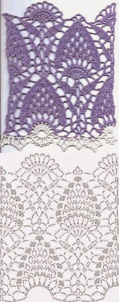 Patterns and motifs: Crocheted motif no. 528
