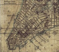 Map of Revolutionary-Era New York. shows British-occupied New York in the summer of the period between the Battle of Brooklyn and the Battle of Harlem Heights. Adamson said he believes the document was part of a working military field map at the time. American Revolutionary War, American War, American History, New York City Map, City Maps, Vintage New York, Vintage Maps, Manhattan Map, Battery Park