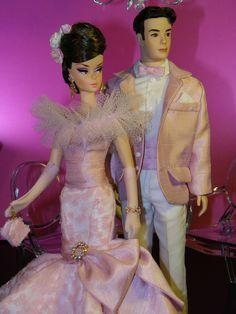 2014 Ken and Silkstone Barbie