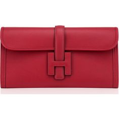 View this item and discover similar for sale at - Hermes Rouge Grenat Jige Elan Clutch Red Garnet Jewel Brand New in Box. Comes in full set with Hermes Hermes Clutch, Hermes Bags, Hermes Handbags, Clutch Bag, Briefcase Women, Red Handbag, Garden Parties, Red Purses, Leather Purses