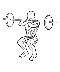 Barbell Front Squat 2