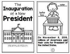 Teach children about the upcoming Presidential Inauguration with this set of materials.  It includes a student book, key words, sheets for recording prior knowledge, questions, and answers... plus comprehension questions and a template for writing their inaugural speech.  (It is not an endorsement for either candidate.)  $