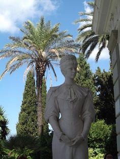 Sisi's statue at Achilleion, Corfu
