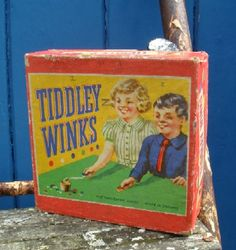 1950's toys and games | Retro Vintage 1950s Childrens Tiddley Winks Game