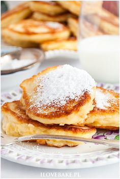 Pancakes, French Toast, Bread, Meals, Breakfast, Ethnic Recipes, Baking, Food, Per Diem