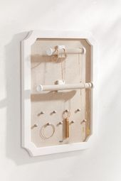 2019 Is the Year I'm Going to Organize My Home Like Marie Kondo — Here's How Mele & Co. Kyla Hanging Jewelry Storage – Closet Jewelry Storage – Wall Art / Home Accessories Hanging Jewelry, Jewelry Tree, Jewelry Hanger, Jewelry Box, Candles For Sale, Candle Sale, Marie Kondo, Simple Colors, Closet Storage
