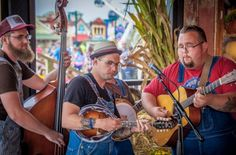 Live bluegrass music at The Island in Pigeon Forge, Tennessee