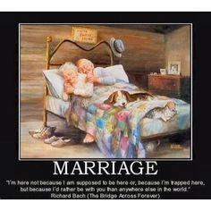 Marriage :)