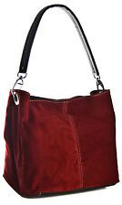 3dcbeb18a5 New Real Italian Suede Leather Mini Slouch Hobo Shoulder Handbag - 25+  Colours