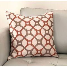 Roxbury Accent Pillow(Coral)