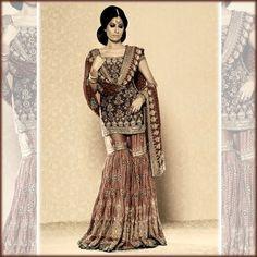 Looks vintage...beautiful gharara