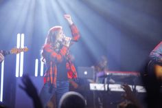 // lead @courtney_milleson leading @portcitychurch last night for NOW  #pc3NOW #portcutychurch #lead #worshipleader #song #music #vocals #lights #martinlighting #church #canon #canon_photography