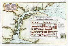 1764 Detroit Map on OneKingsLane.com