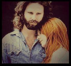 Jim Morrison & Pamela Courson