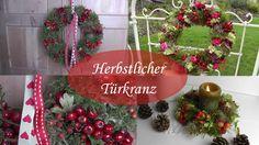 DIY - Herbstdeko - Türkränze aus Hagebutten, Beeren, Blüten und Moos
