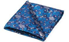 ICARUS Woven Silk Pocket Square #pocketsquare #cravat #pocketsquares #menswear #mens #fashion #mensfashion #mensstyle #groom #grooms #groomswear #wedding #weddings #weddingstyle #style #weddinginspiration #inspiration #styling #accessories #weddingcravat #silk #silksquare #madeinengland #madeinbritain #britishmade #cravatclub #blue #silver #botanical