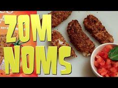 Vegan Mozzarella Sticks - ZOM NOMS