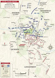 17 September 1862 Fight For The Cornfield 7 00am To 7 40am