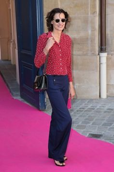 Ines de la Fressange - Haute couture: de best geklede gasten in de straten van Parijs - Fashion Week - Fashion