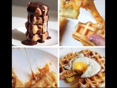 Waffle 4-Ways - How to Make Waffle 4-Ways / BuzzFeed Food VIDEO - YouTube