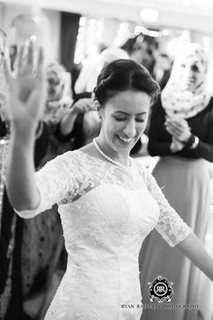 Our beautiful blushing bride, Amina.. View the full photo set here: http://thebowdonrooms.co.uk/a-sophisticated-taste-of-the-middle-east/