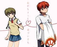 Sakura and Rinne. Is this love?-