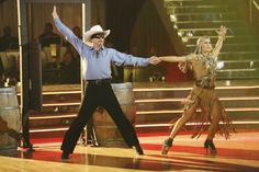 Emma Slater & Bill Engvall dance the Paso Doble   -  Dancing With the Stars  -   week 3  -  season 17  -  Sept. 30, 2013  -  eliminated in week 11's finals
