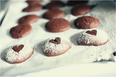 Heart shaped Whoopie Pies for Valentine's Day