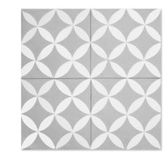 Daisy C24-14 encaustic tile from Mosaic House