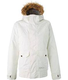 Burton Cassidy Snowboard Jacket Stout White - Womens 2015
