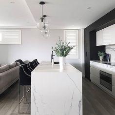 "121 Likes, 4 Comments - Designer Kitchen Sponges (@barklybasics) on Instagram: ""So much love for this gorgeous kitchen designed by @alicia_xiberras_interiors #kitchen…"""