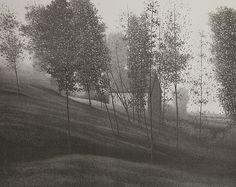 'Secrets' - lithograph by Robert Kipniss, 1979